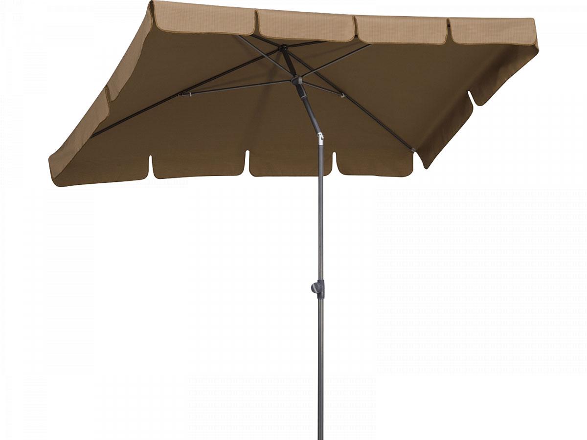 Schneider Schirme Sonnenschirm AQUILA, 265x150 cm, mocca