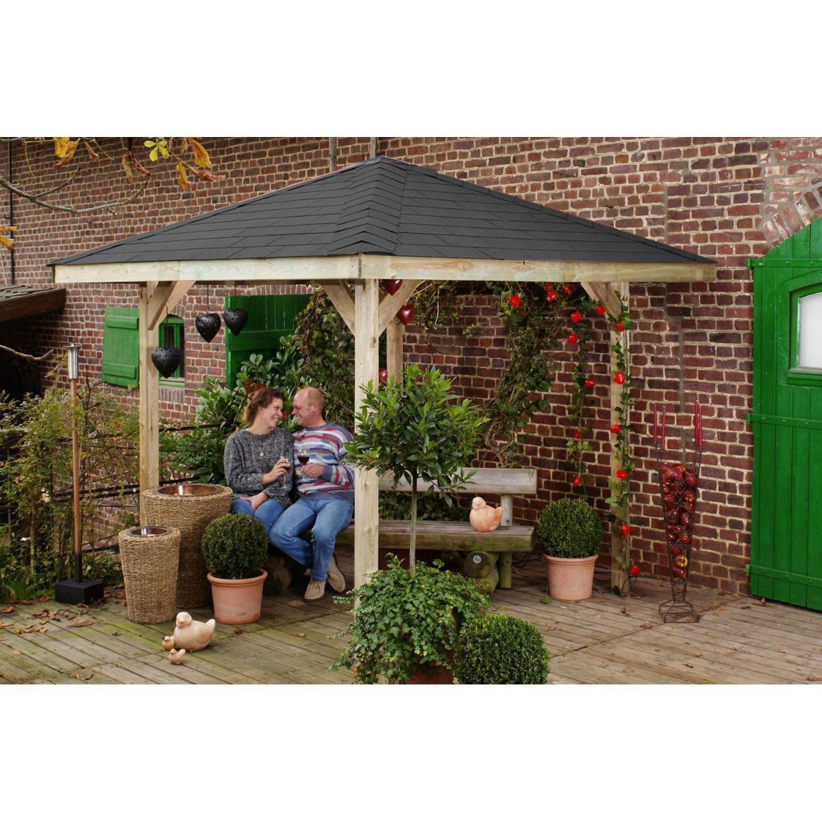 """Pavillons - Gartenpavillon """"Gartenose Gr.1""""  - Onlineshop Hellweg"""