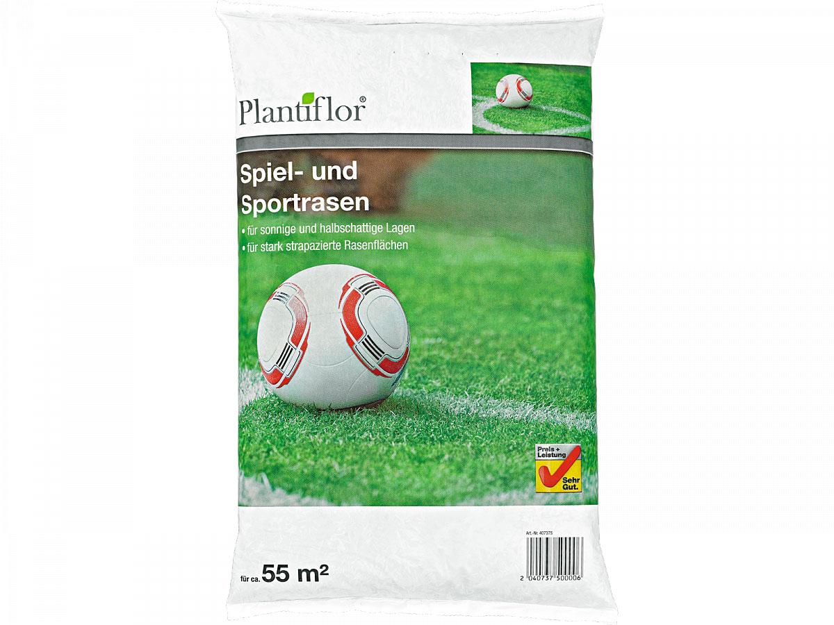 Plantiflor Spiel- und Sportrasensamen, 1kg
