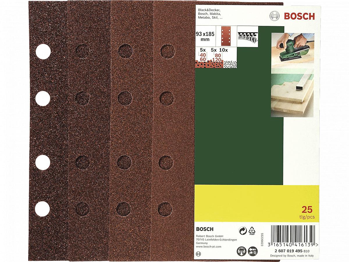Bosch Schleifblattsatz