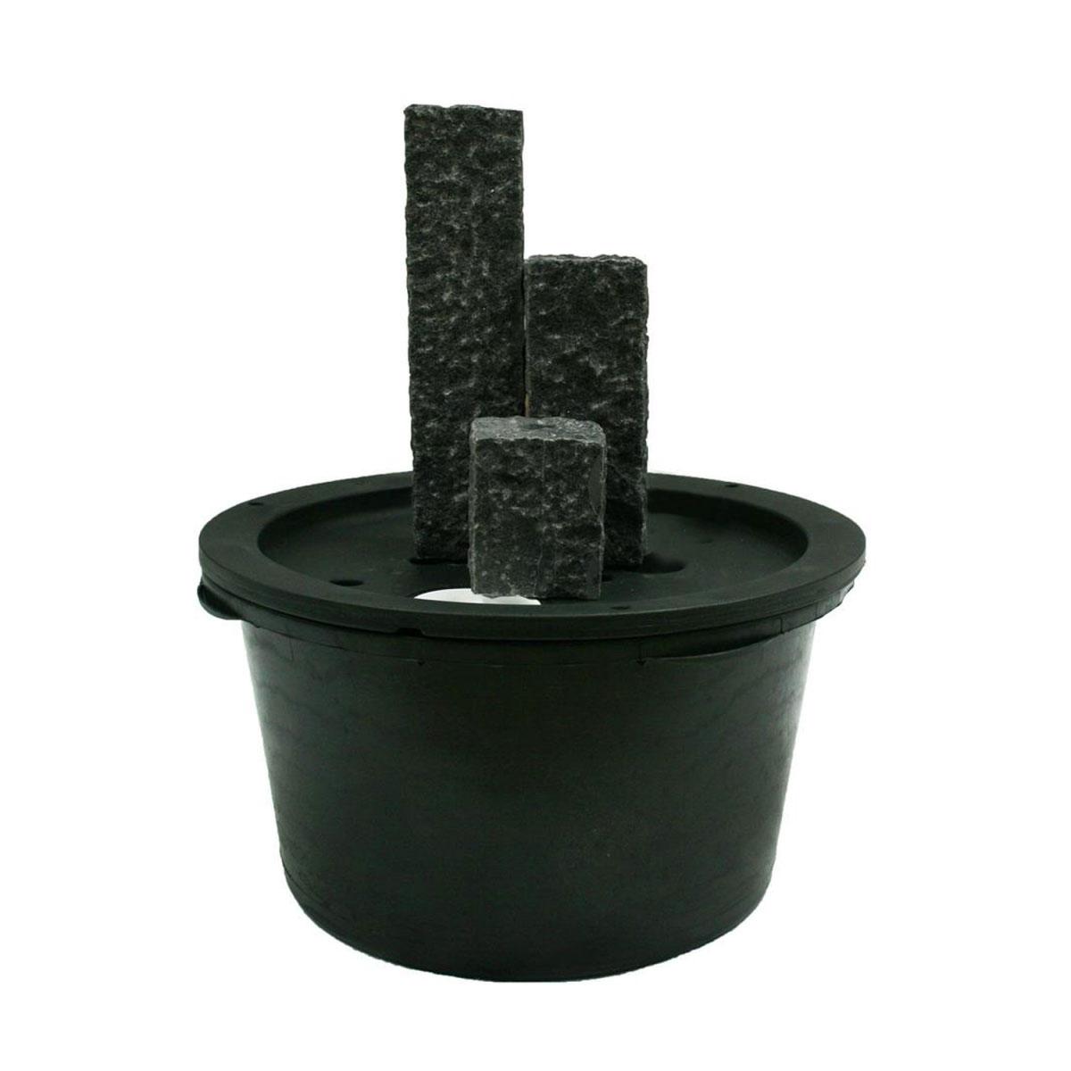 """Gartendekoration - Wasserspiel Set """"Modena"""" inkl. Pumpe und LED Beleuchtung  - Onlineshop Hellweg"""