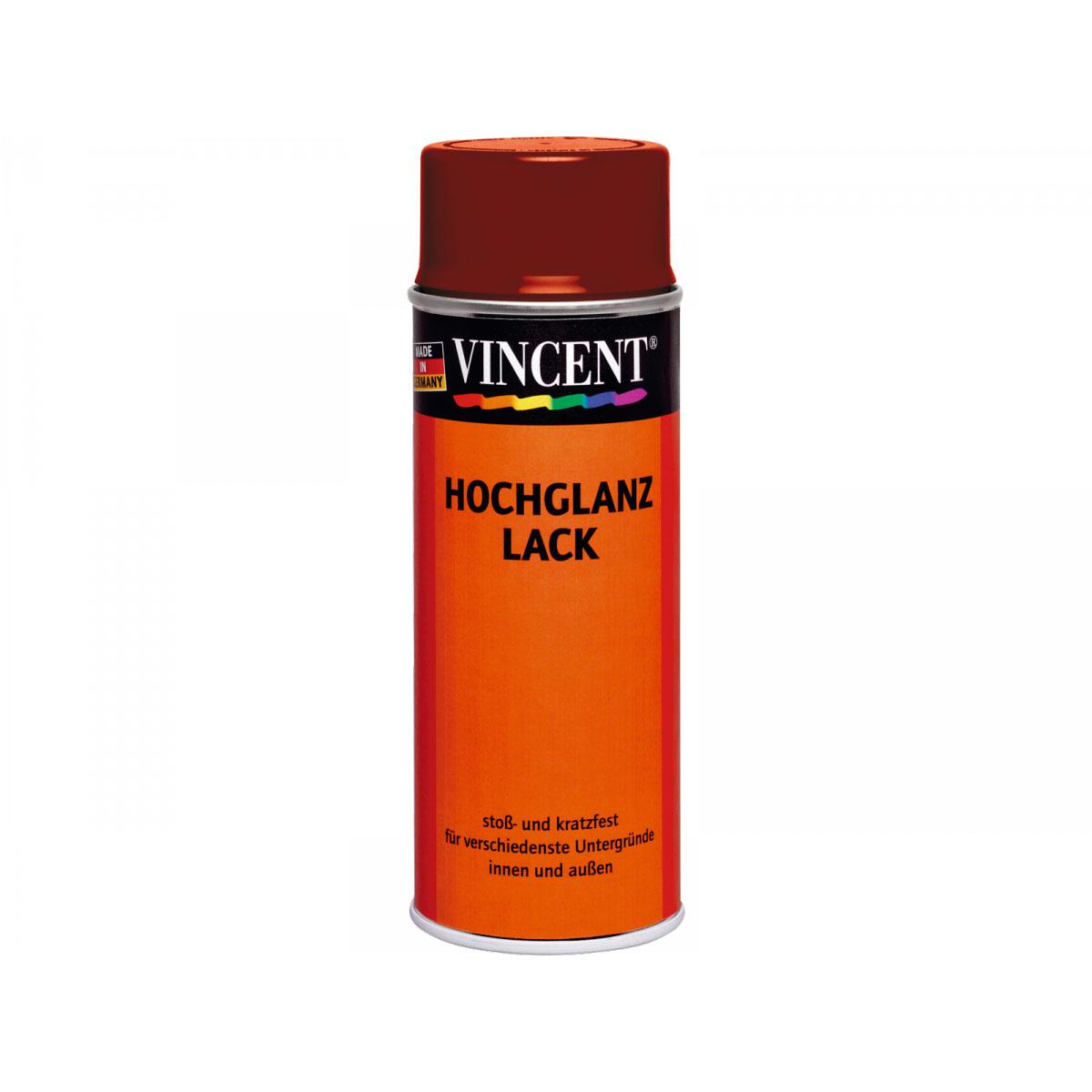 Vincent Hochglanzlack purpurrot 400 ml