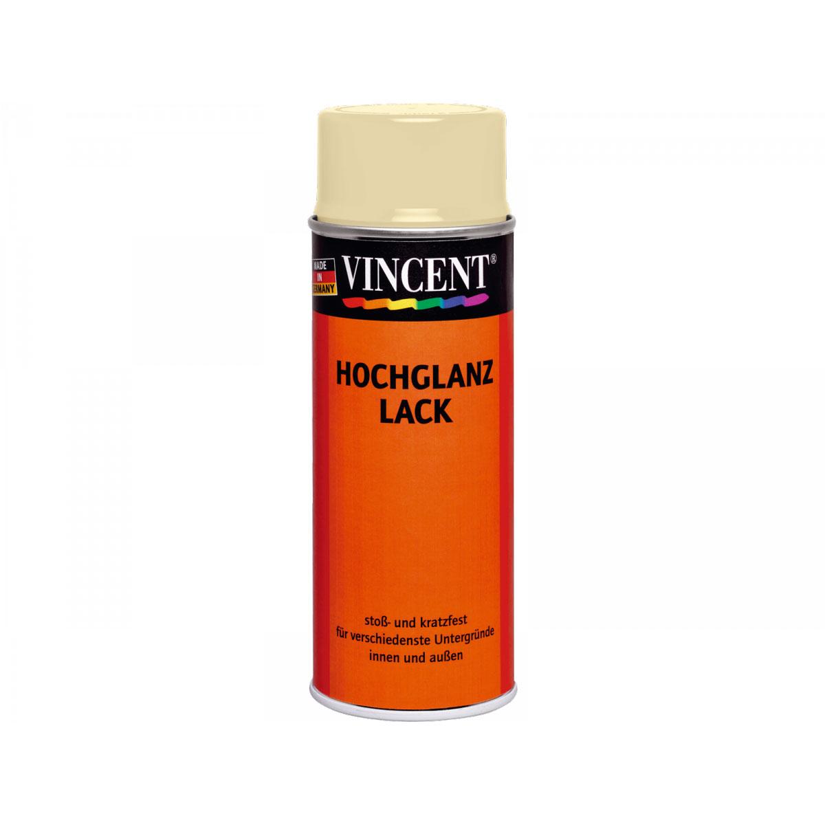 Vincent Hochglanzlack hellelfenb 400 ml