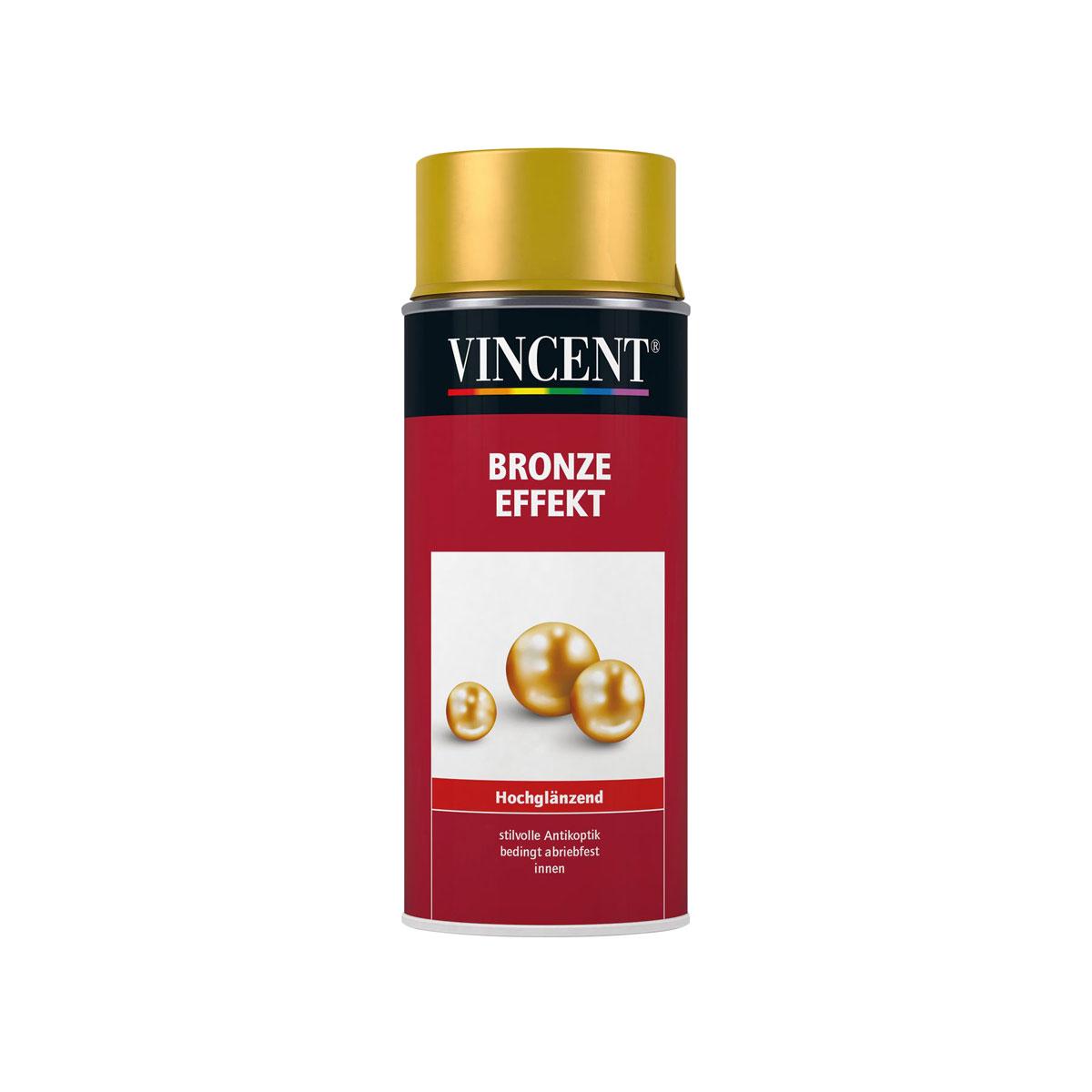 Vincent Bronze Effekt hochglänzend