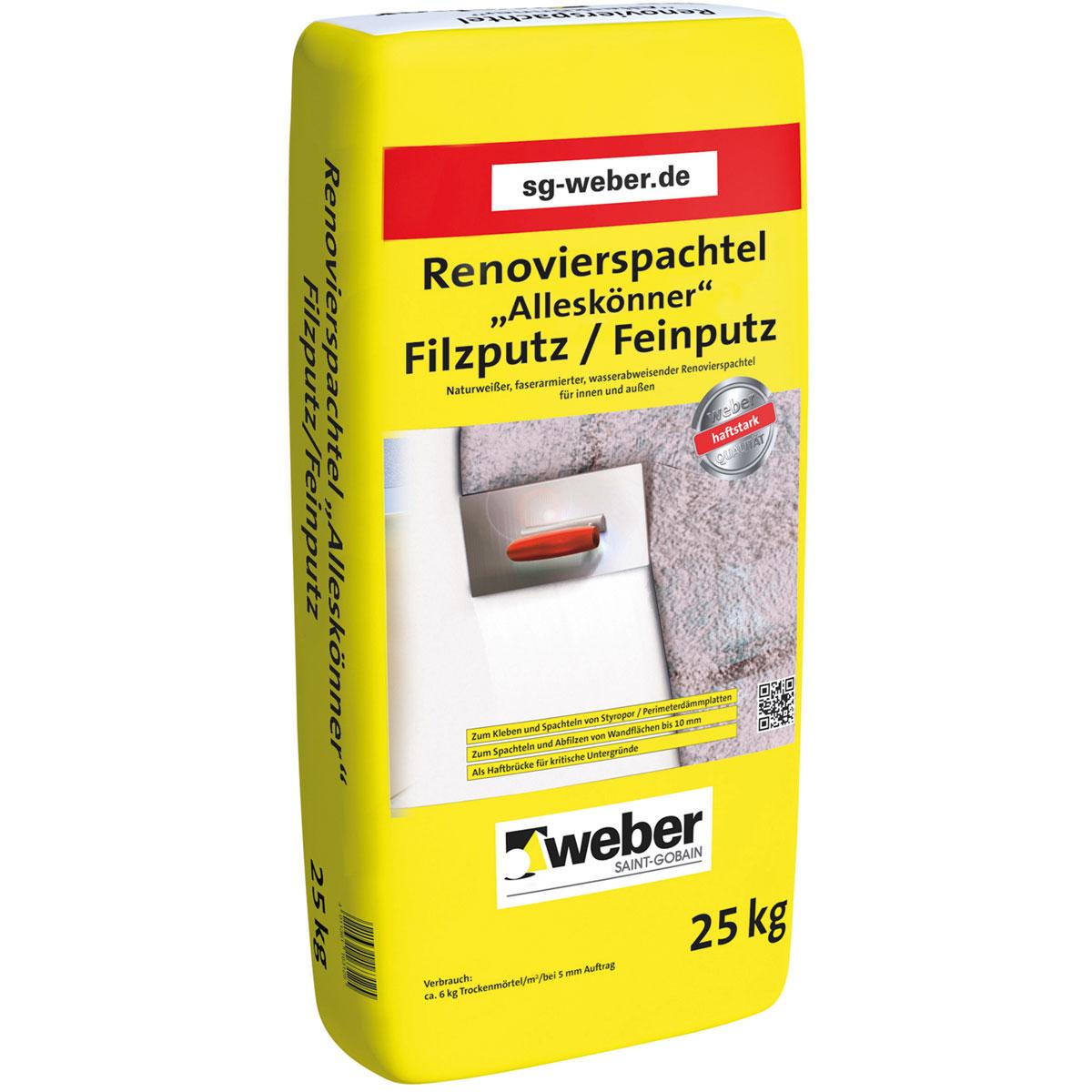 """Renovierungsspachtel """"Alleskönner"""", 25 kg"""