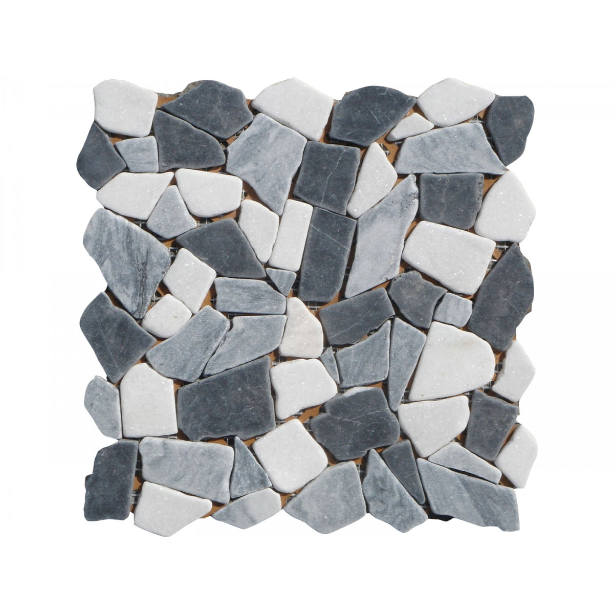 "Marmor-Polymosaik ""Grey Marquina"""