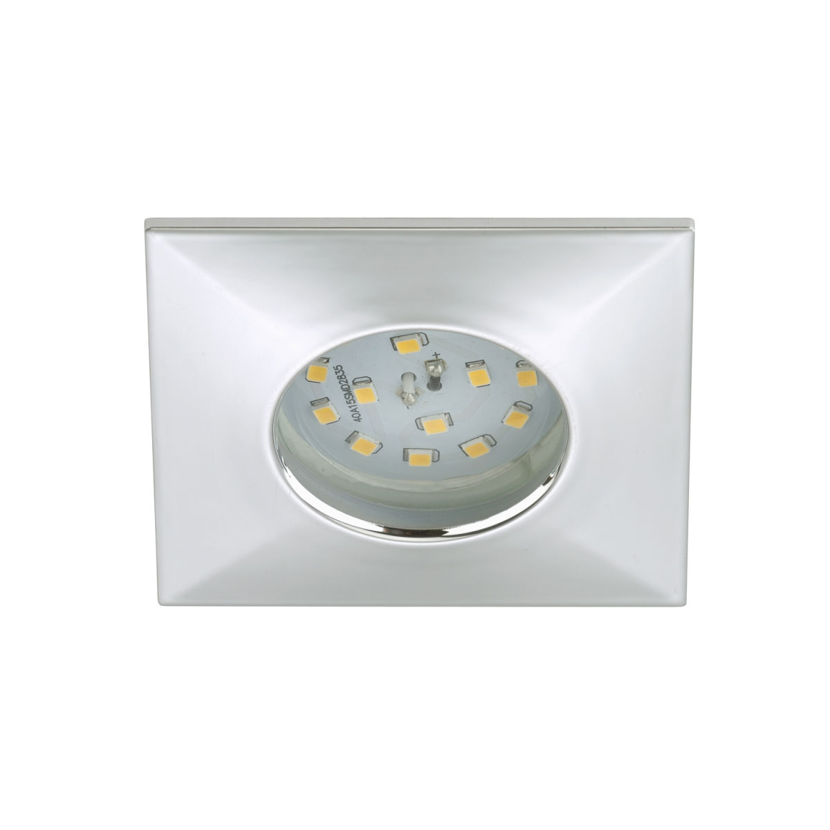 Deckenleuchten - LED Einbauleuchte, chrom, 5W, 1xLED  - Onlineshop Hellweg
