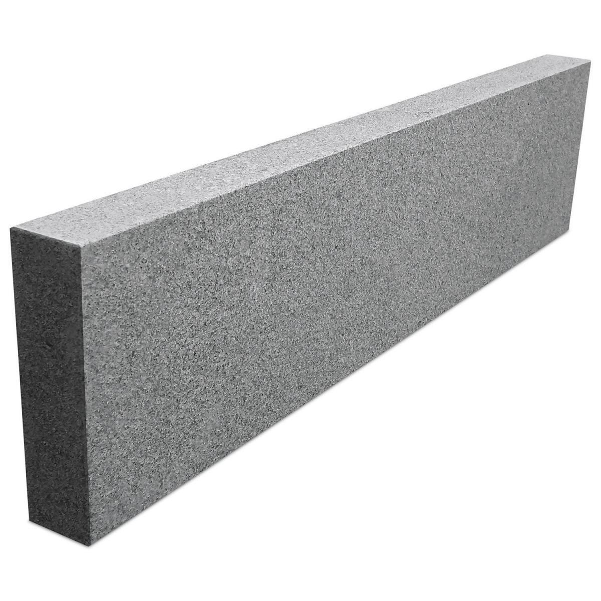 Wingart Granit-Kantenstein, 75x18 cm, grau-graphit