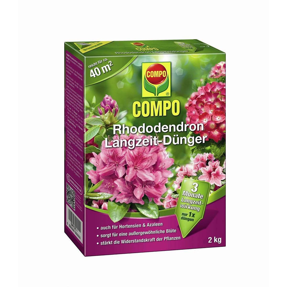 Rhododendron Langzeit-Dünger 2 kg | Garten > Pflanzen > Dünger | Compo