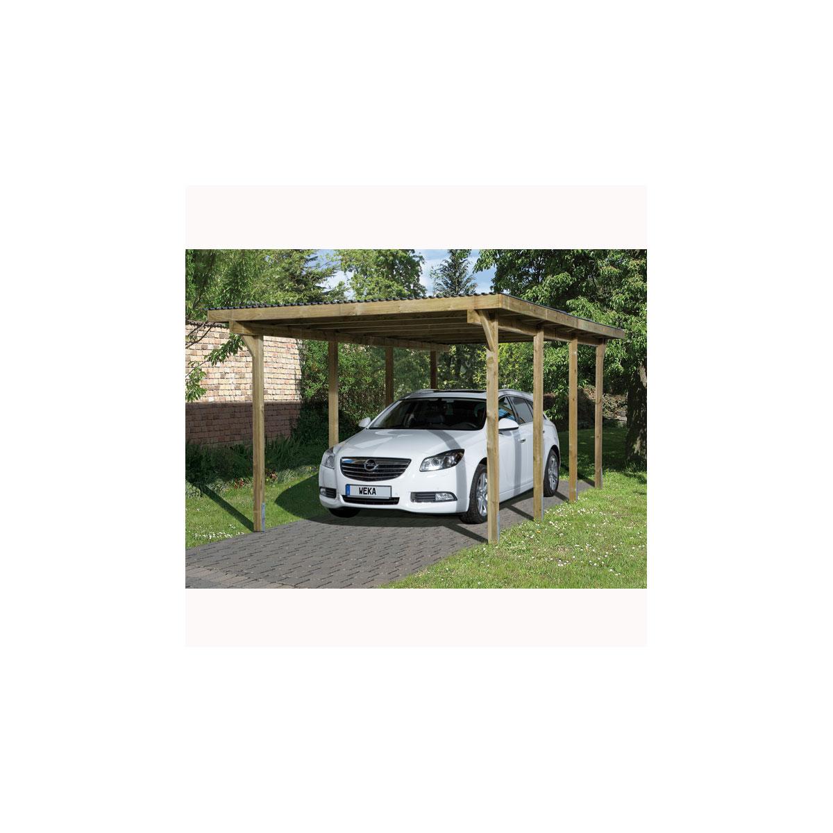 Carports - Carport 606 P.2 300x600  - Onlineshop Hellweg