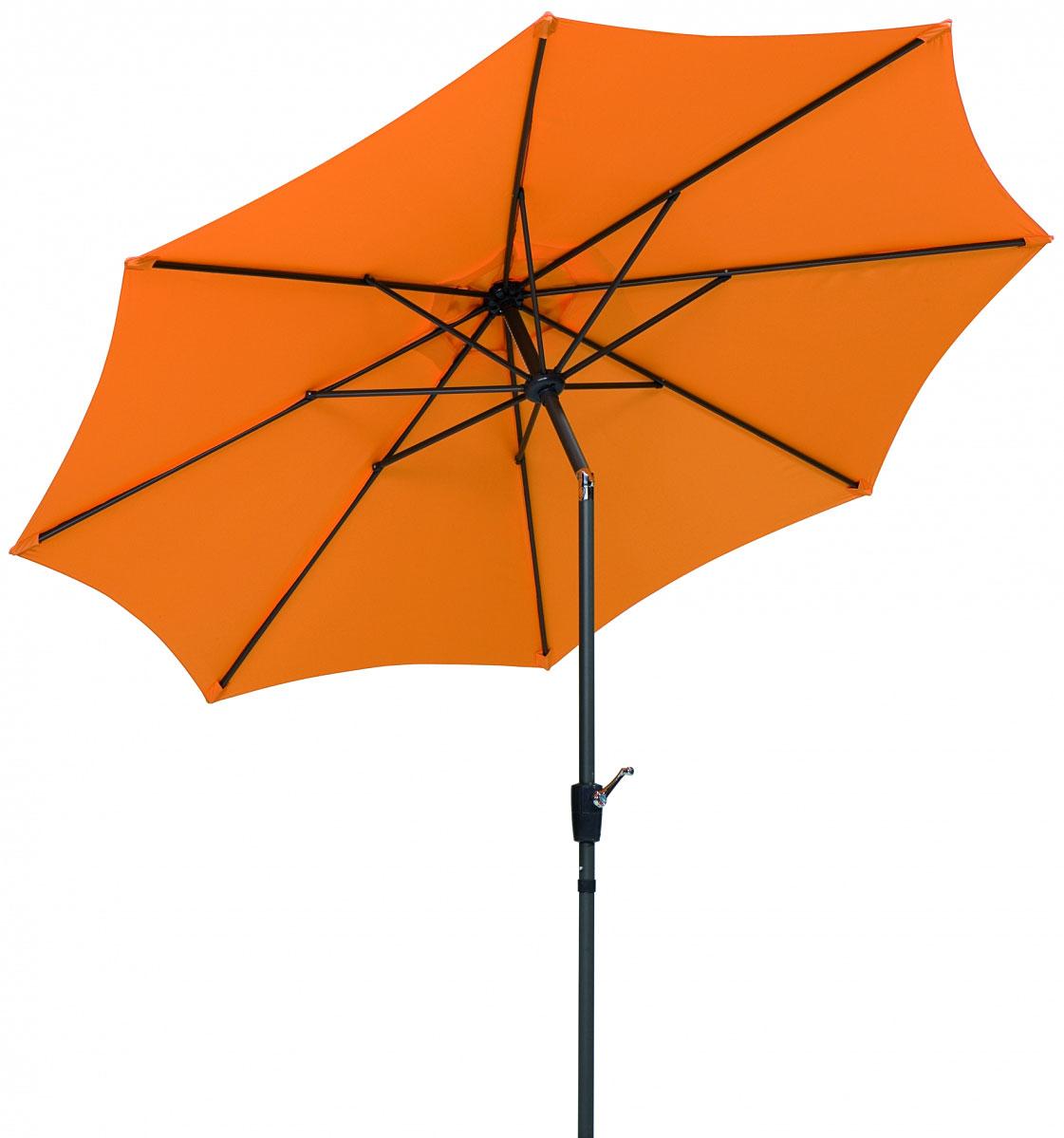 """Sonnenschirme und Sonnensegel - Sonnenschirm """"Harlem"""" ca. 270 cm mandarine, rund  - Onlineshop Hellweg"""