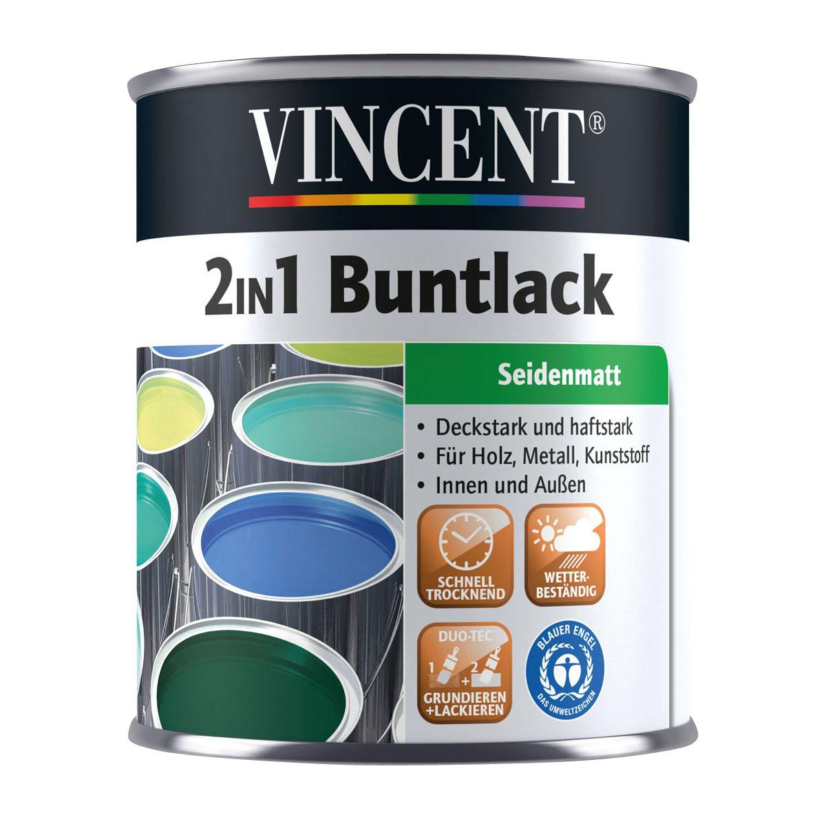 Vincent 2in1 Buntlack safrangelb