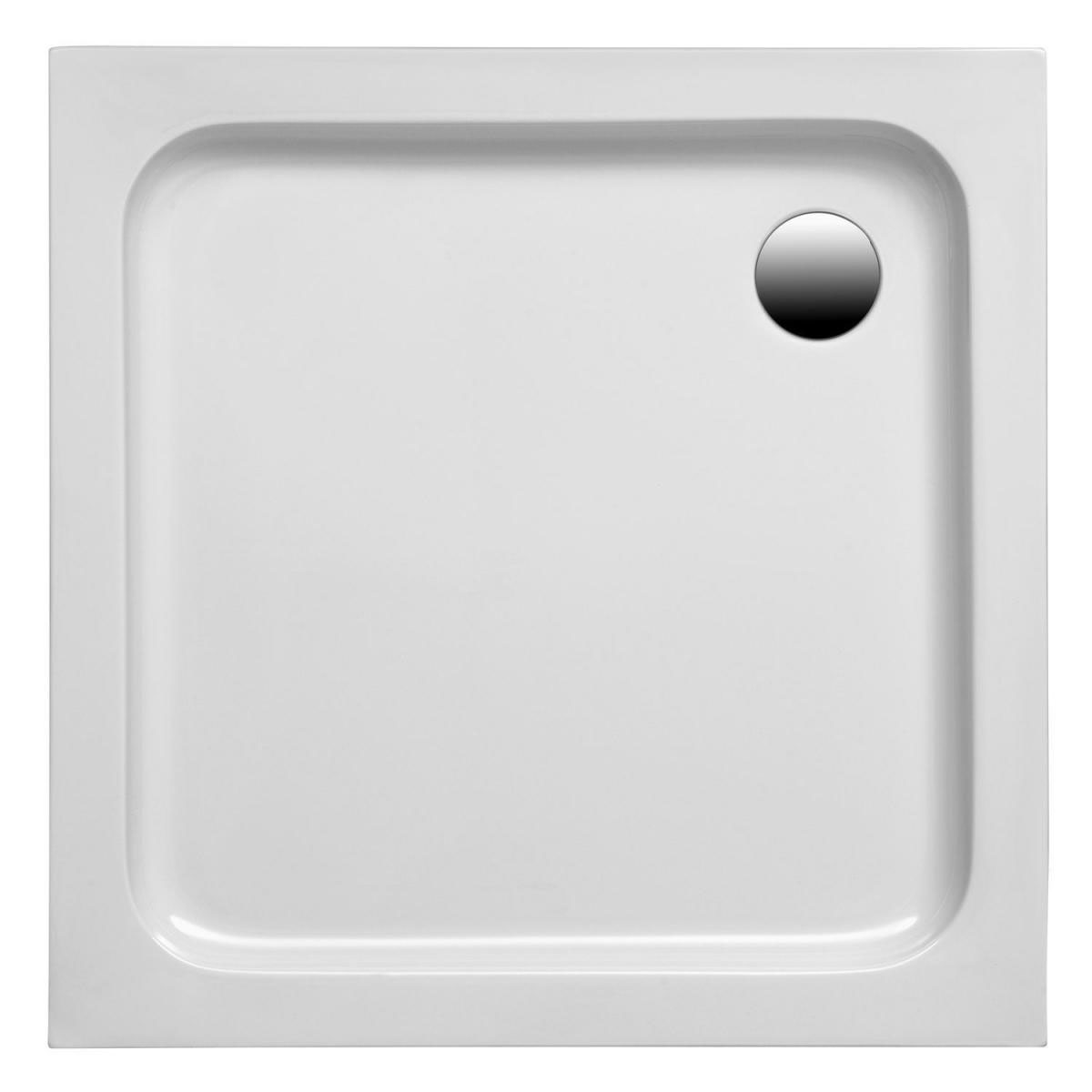 Ottofond Duschtasse, Samos 80 x 75 x 6 cm, weiss 940501