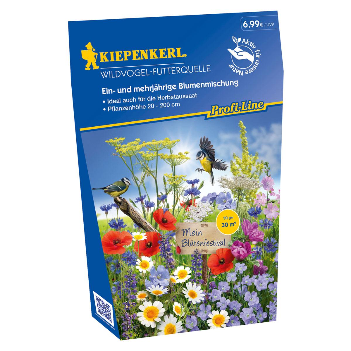"""Kiepenkerl Blumenmischung """"Wildvogel-Futterquelle"""""""