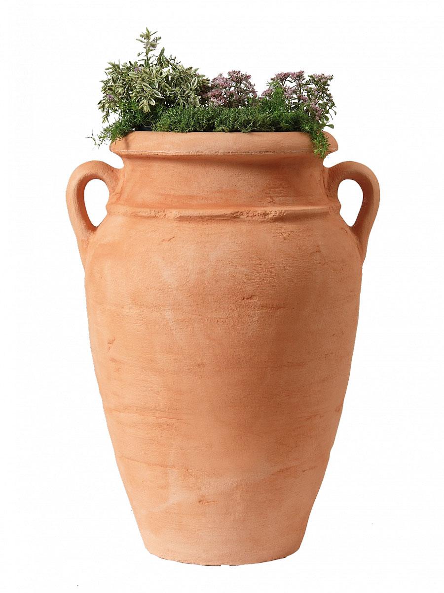Garantia Pflanz-Amphore Antik Terracotta