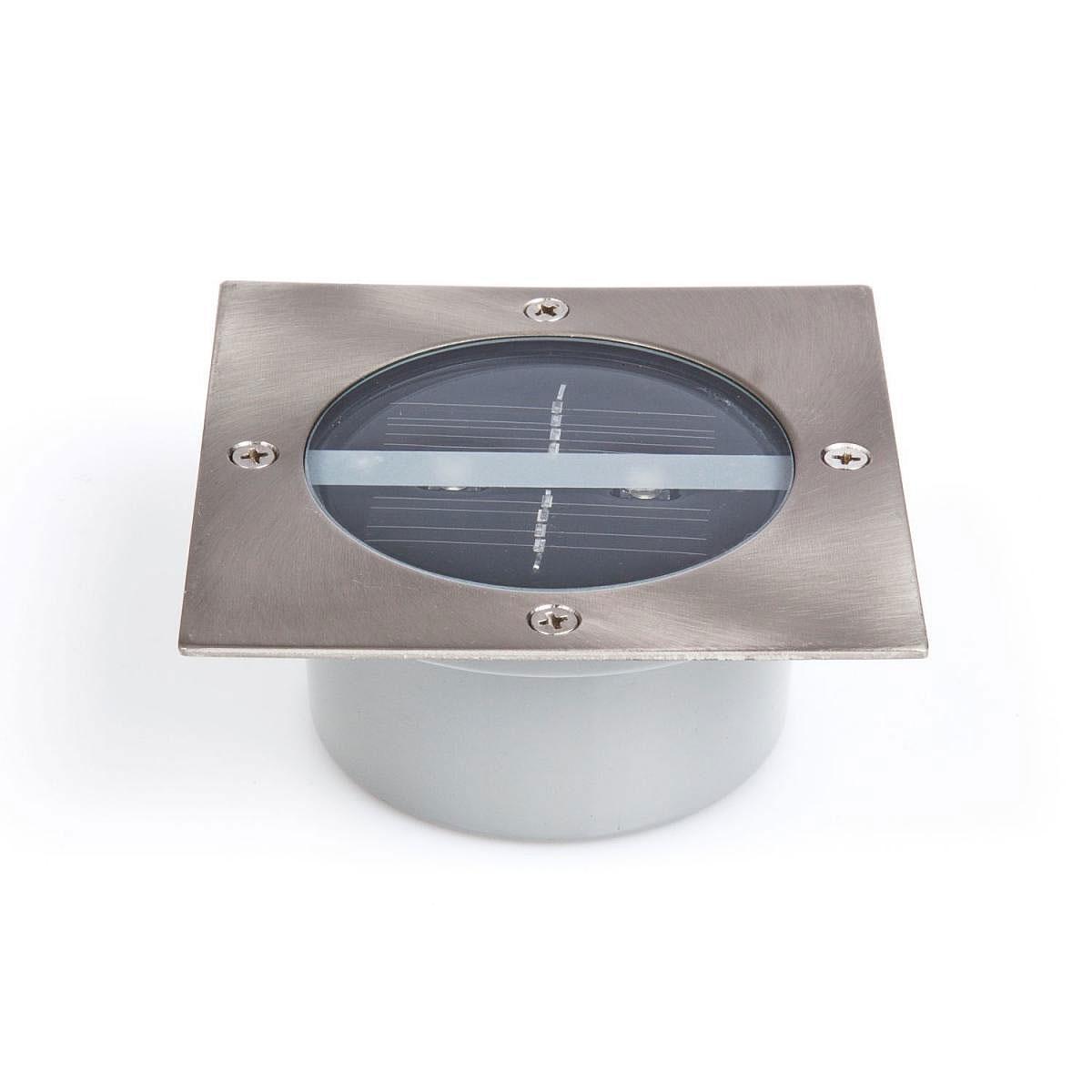 Solarleuchten - Solar LED Bodeneinbauleuchte, eckig  - Onlineshop Hellweg