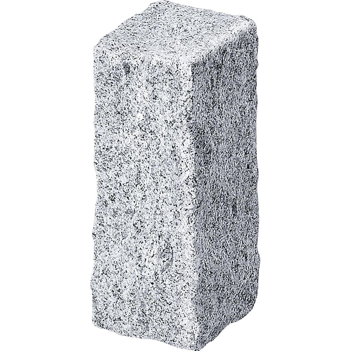 Wingart Granit-Palisade, 25 cm, granit-grau