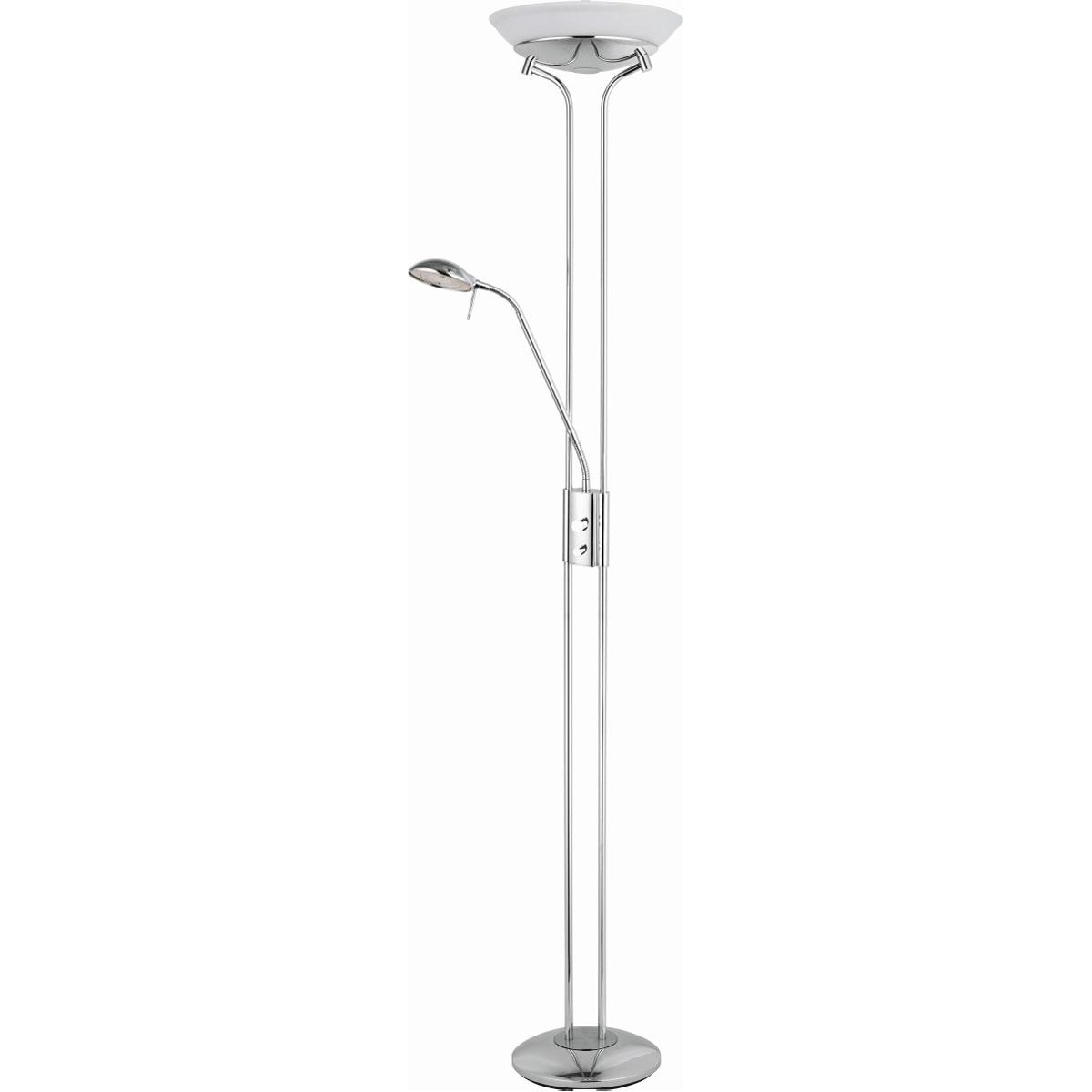"""Stehleuchten - LED Deckenfluter """"Aminata"""" mit Glasschale  - Onlineshop Hellweg"""
