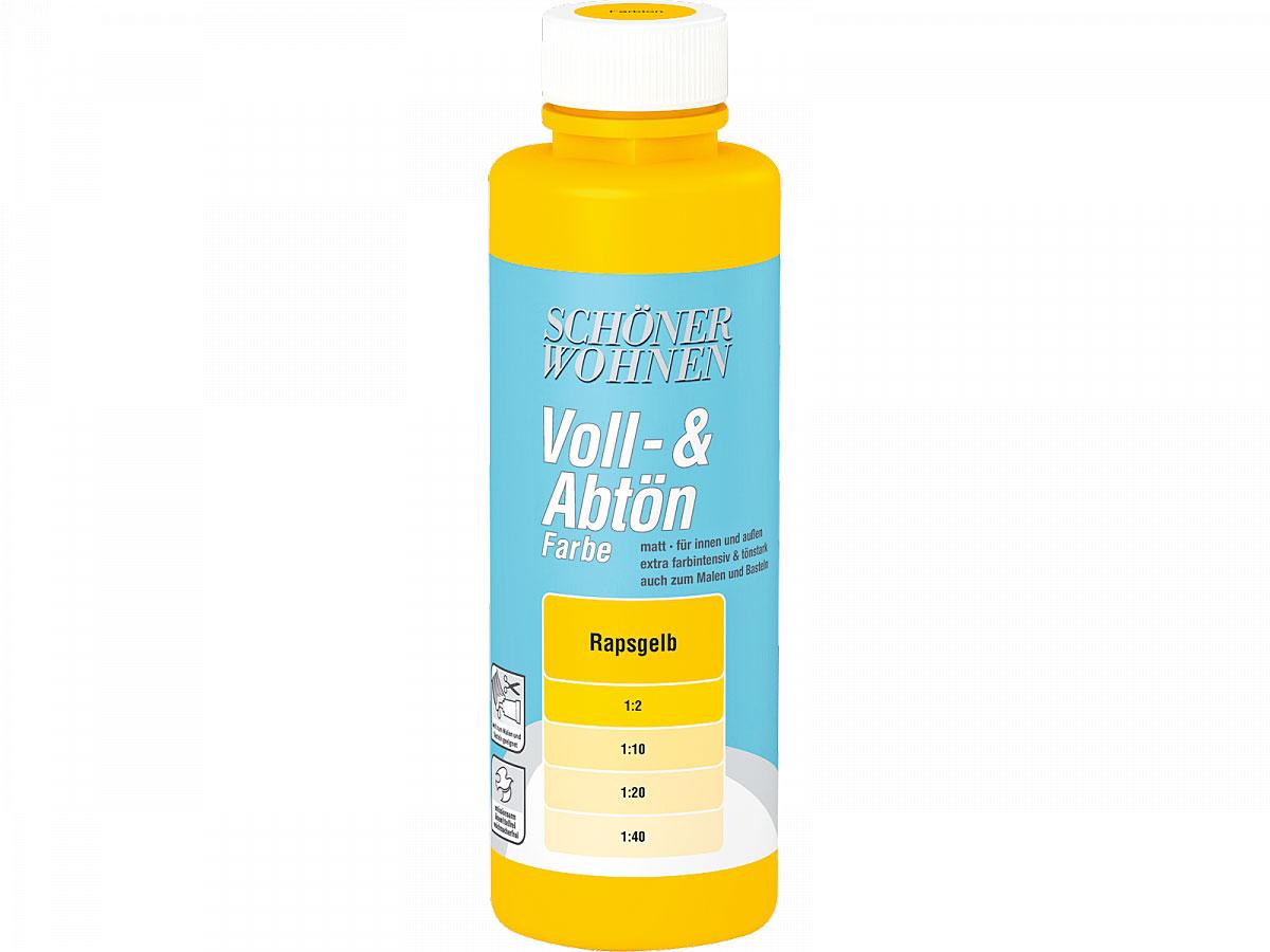 Schöner Wohnen Voll-& Abtönfarbe 250 ml rapsgelb