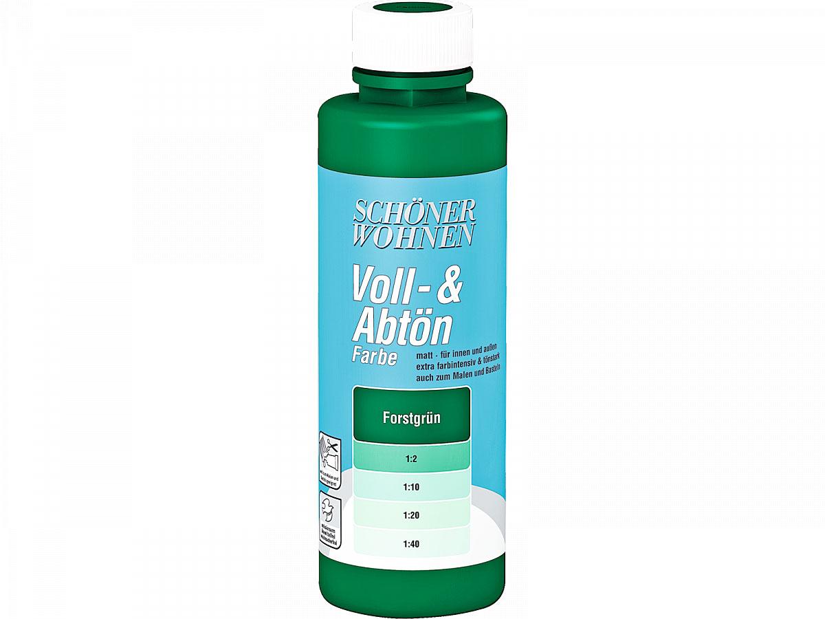 Schöner Wohnen Voll-& Abtönfarbe 250 ml forstgrün