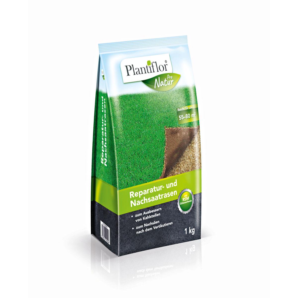 Plantiflor Reparatur- und Nachsaatrasen, 1kg