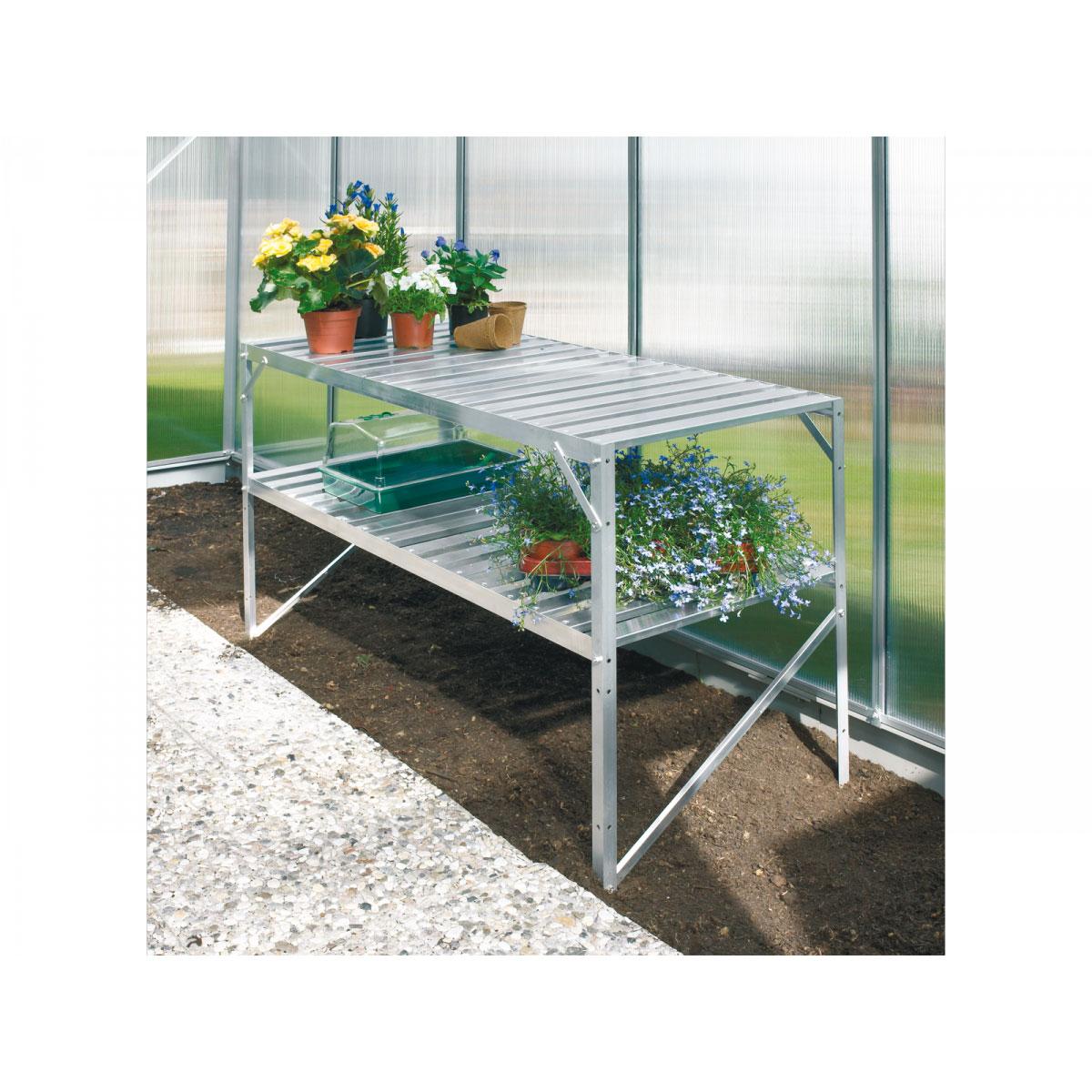 Vitavia Alu-Tisch + 2 Ablagen