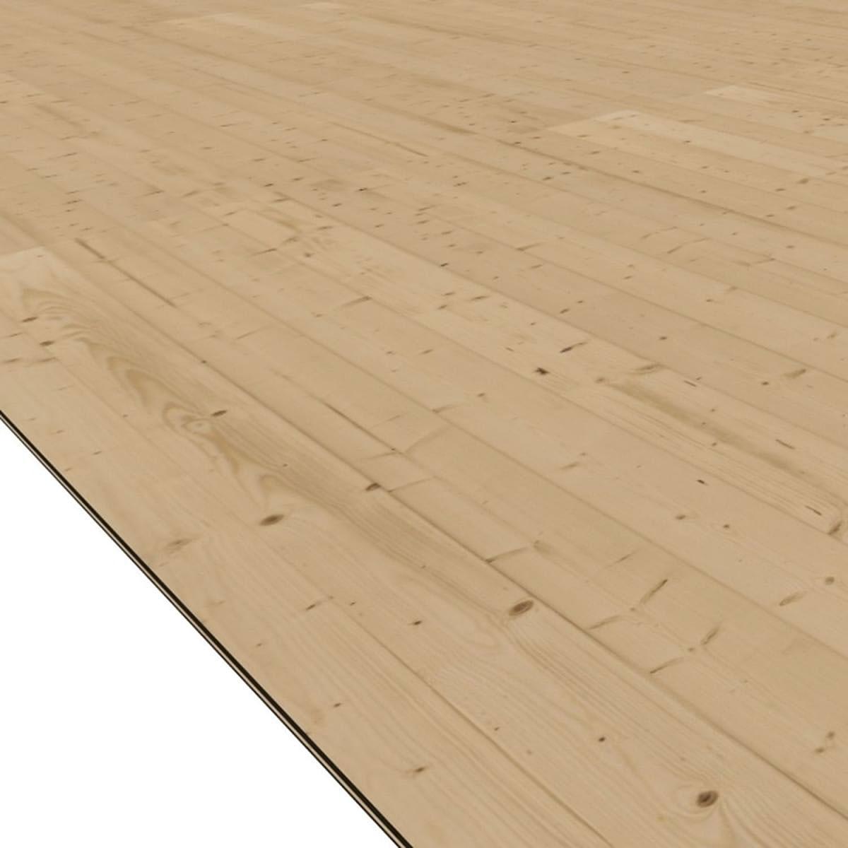 Karibu Fußboden für Gartenhäuser (BxT: 181 x 355 cm)