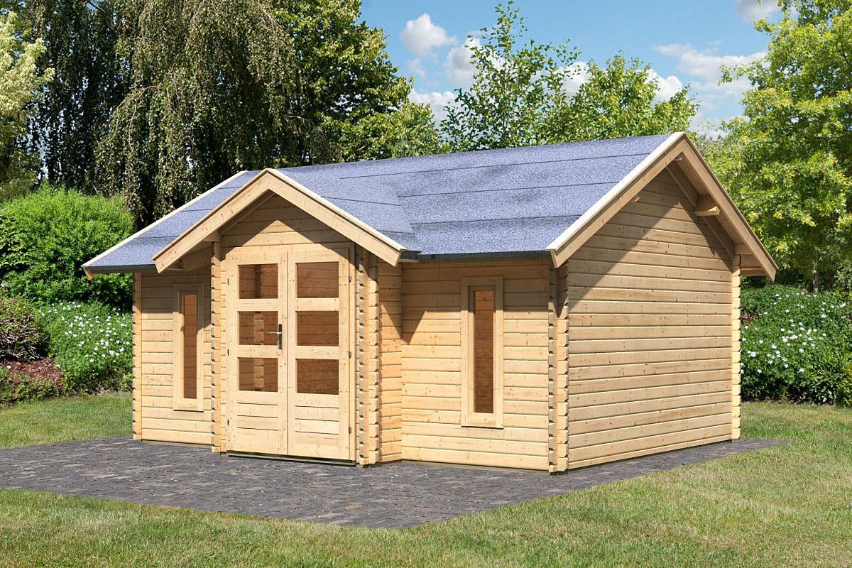 Karibu Gartenhaus Nordland 40 mm
