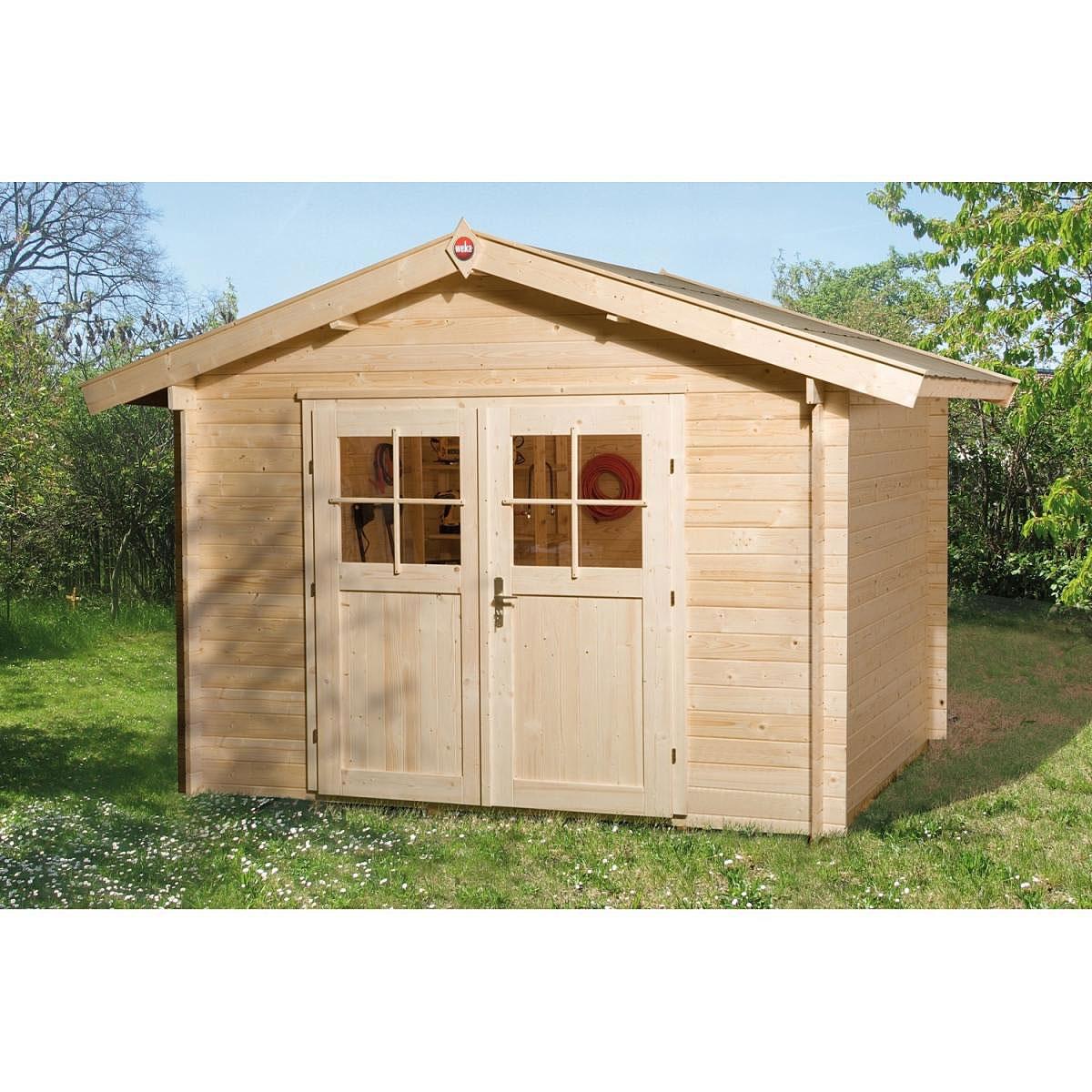 Weka Holz-Gartenhaus Sienna C 300 cm x 300 cm