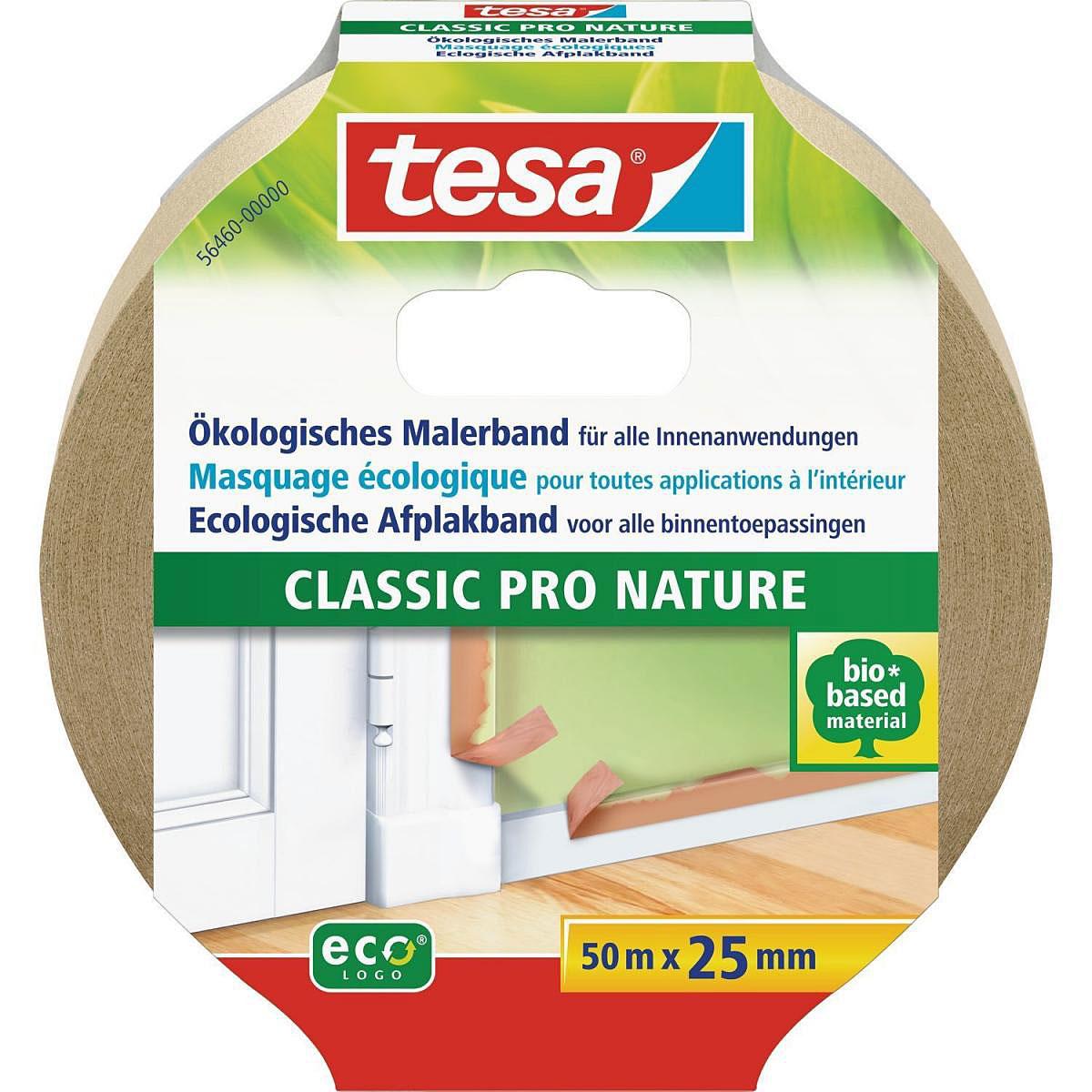 Tesa Maler-Krepp Eco Premium Braun 50 m x 25 mm