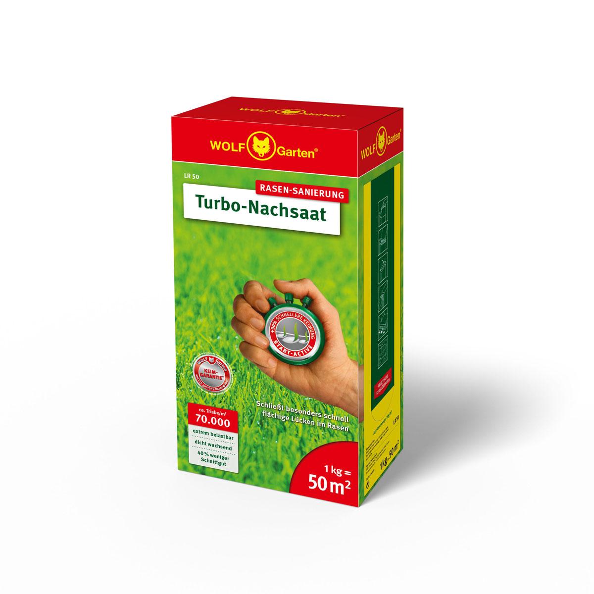 "Nachsaat-Rasen ""Turbo"", 1 kg"
