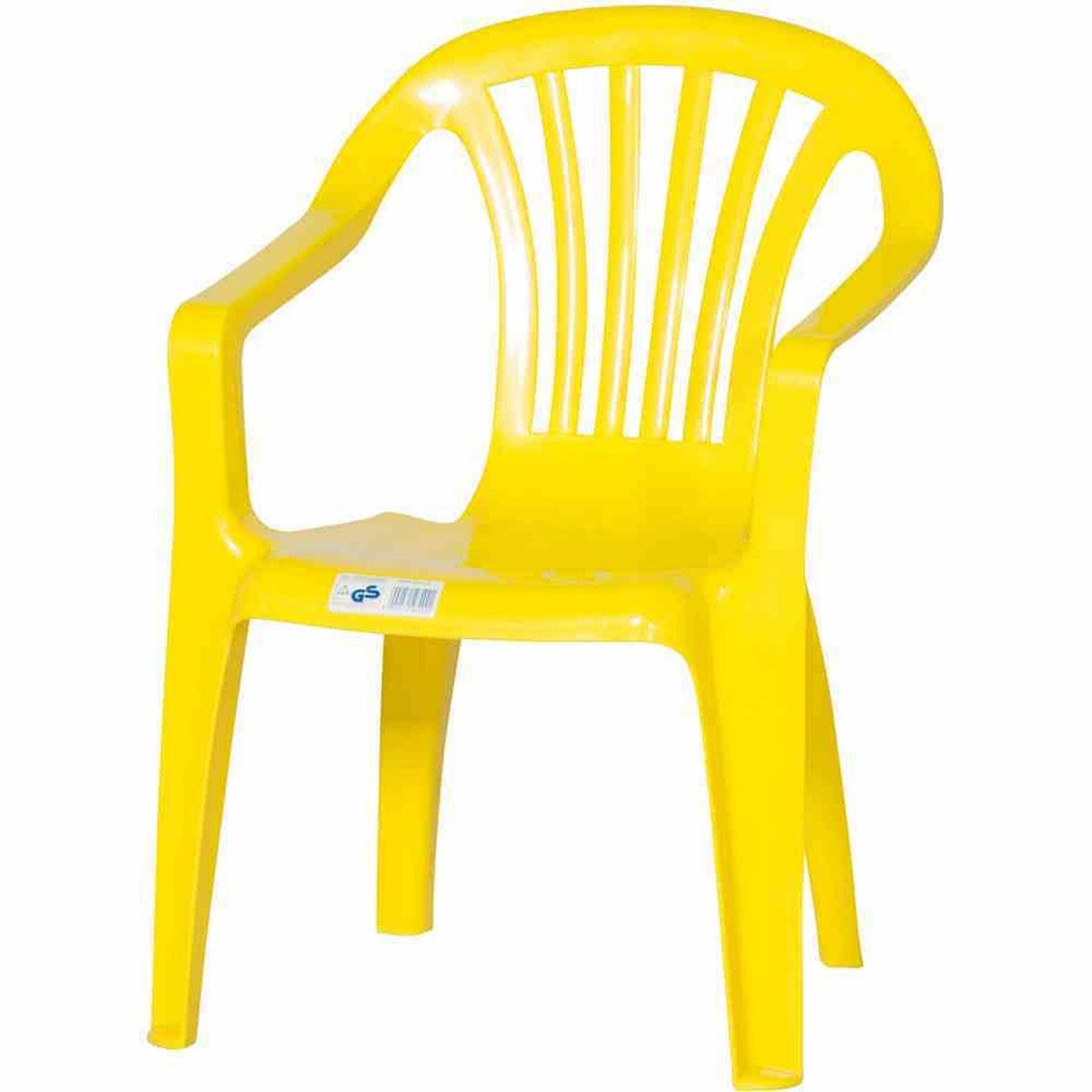 Gartenstühle - Kindermonoblock gelb  - Onlineshop Hellweg
