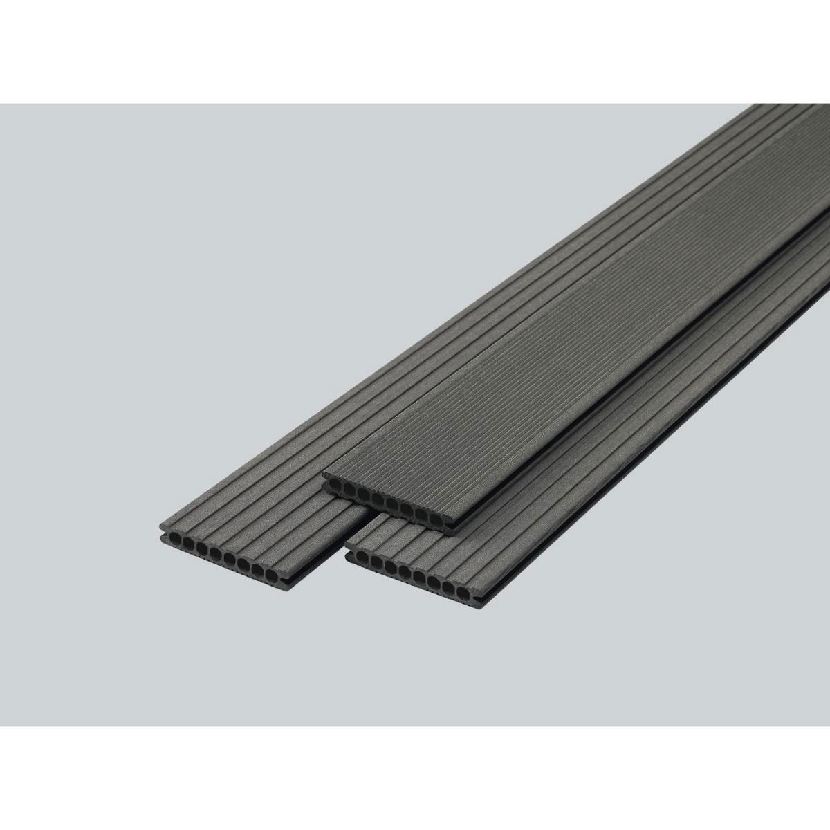 """Rettenmeier WPC-Terrassendielen """"Kombi"""" grey, 400x14,5 cm 400x14,5 cm"""