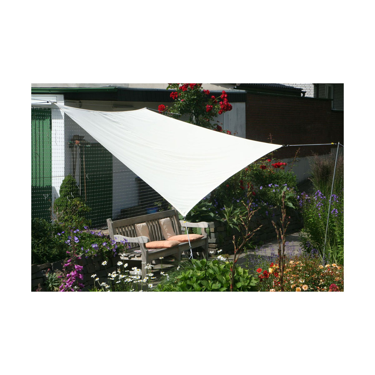 Sonnenschirme und Sonnensegel - Vierecksonnensegel, mit Regenschutz  - Onlineshop Hellweg