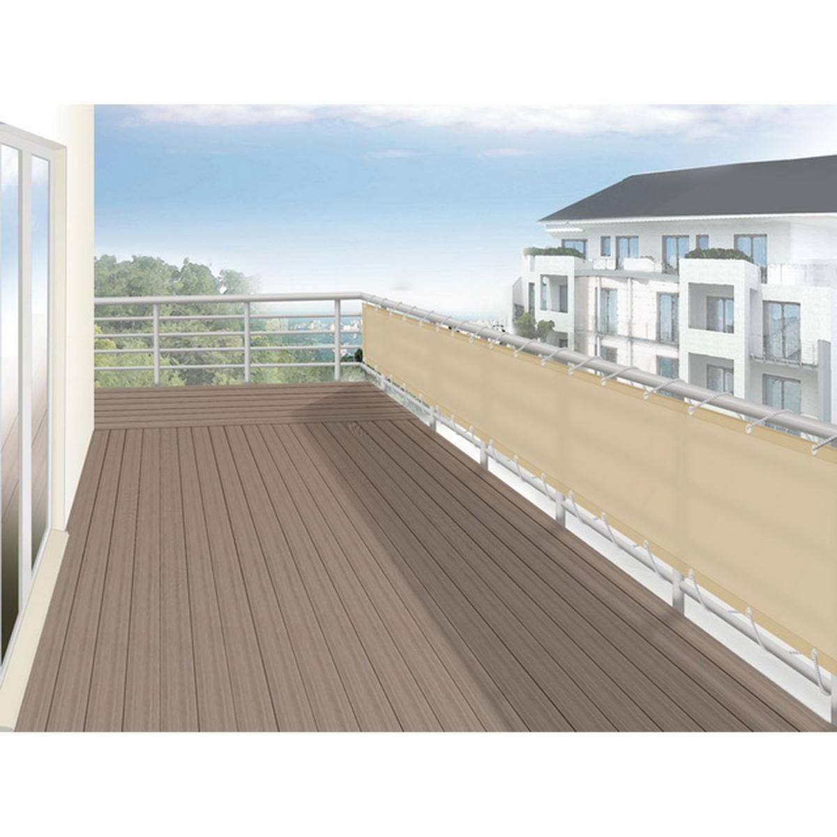 Balkonbespannung Balkonumspannung Online Baumarkt Xxl