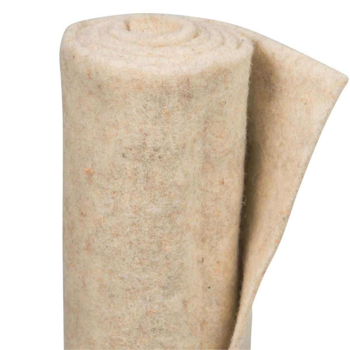 Videx Winterschutz-Schafwollmatte, 50x150 cm, wollweiß