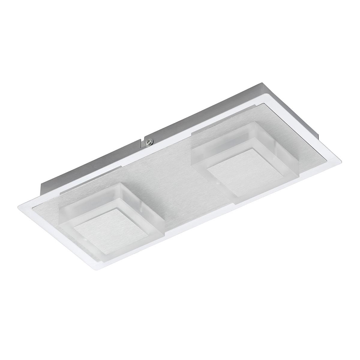 """Wandleuchten - LED Wandleuchte """"Metallo"""", Aluminium, Modul, 2 flammig  - Onlineshop Hellweg"""