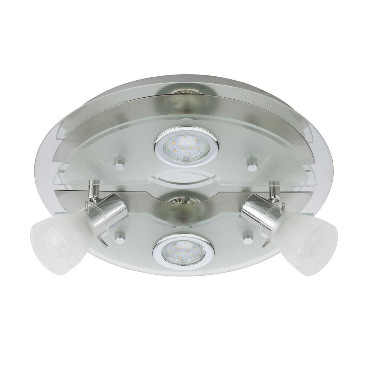 Deckenleuchten - LED Deckenleuchte, matt, GU10  - Onlineshop Hellweg
