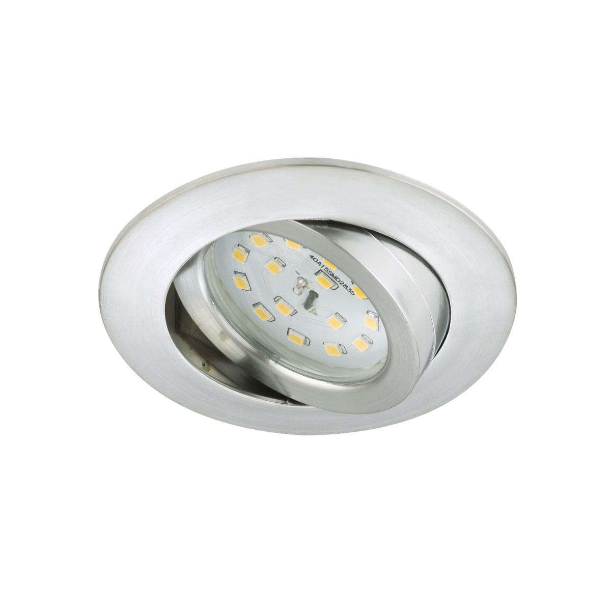 Deckenleuchten - LED Einbauleuchte, Aluminium, Modul, rund, inkl. Gelenk  - Onlineshop Hellweg
