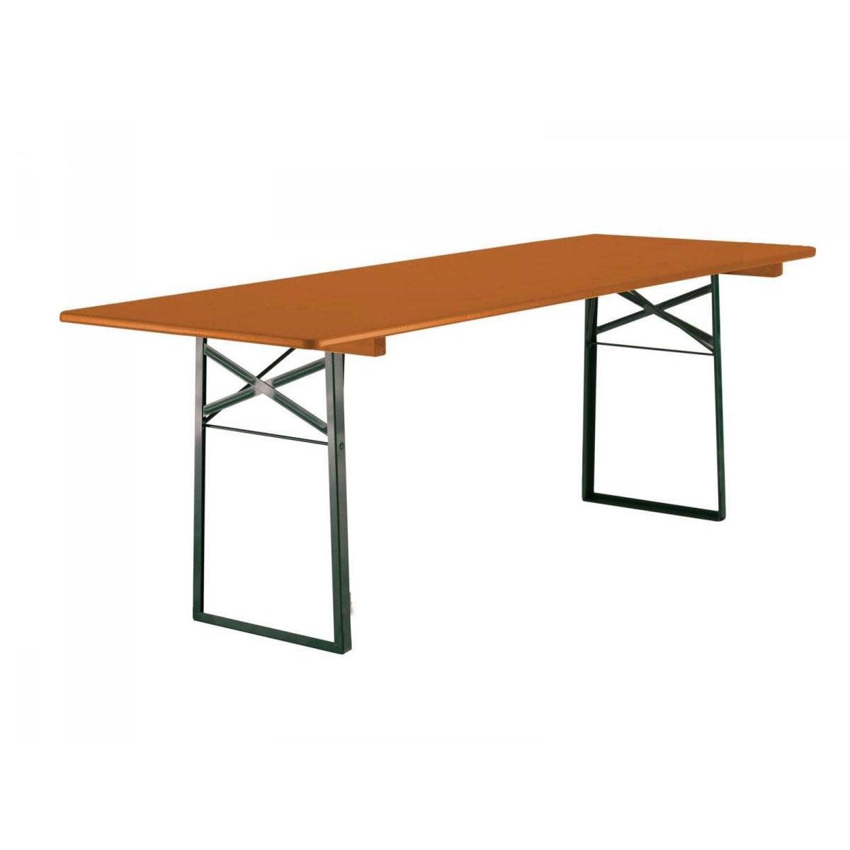 Ruku Festzeltgarnitur Tisch 67 cm, klappbar