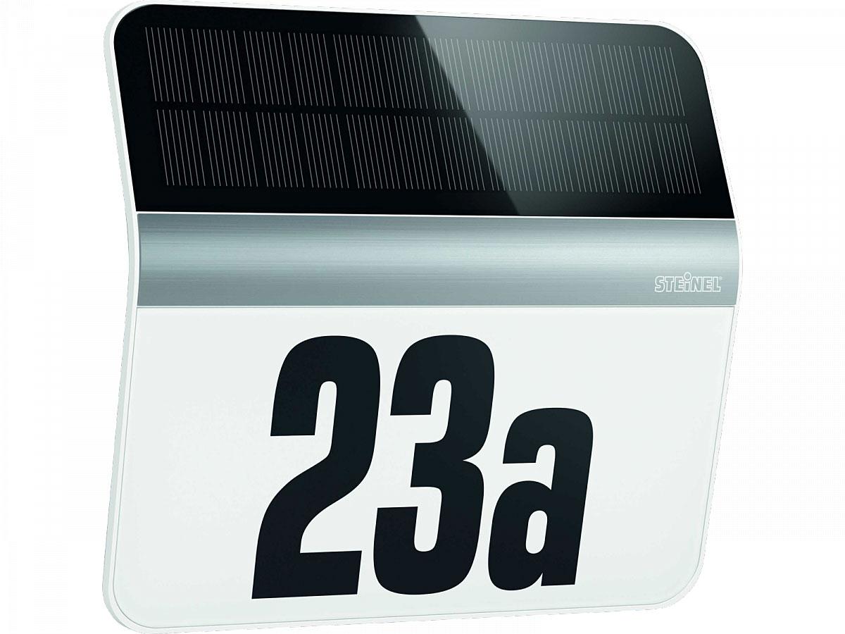 """Solarleuchten - LED Hausnummernleuchte""""XSolar LH N"""", Edelstahl  - Onlineshop Hellweg"""