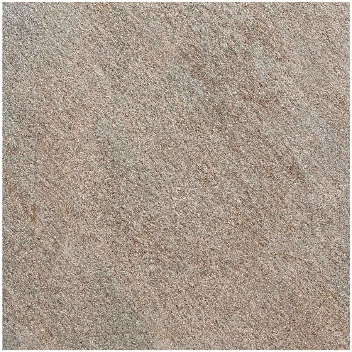 Feinsteinzeug-Platte grau, 60x60x2 cm