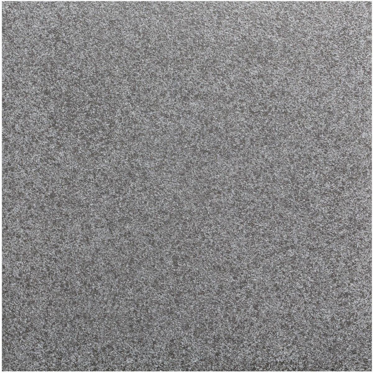 Feinsteinzeug-Platte schwarz, 60x60x2 cm