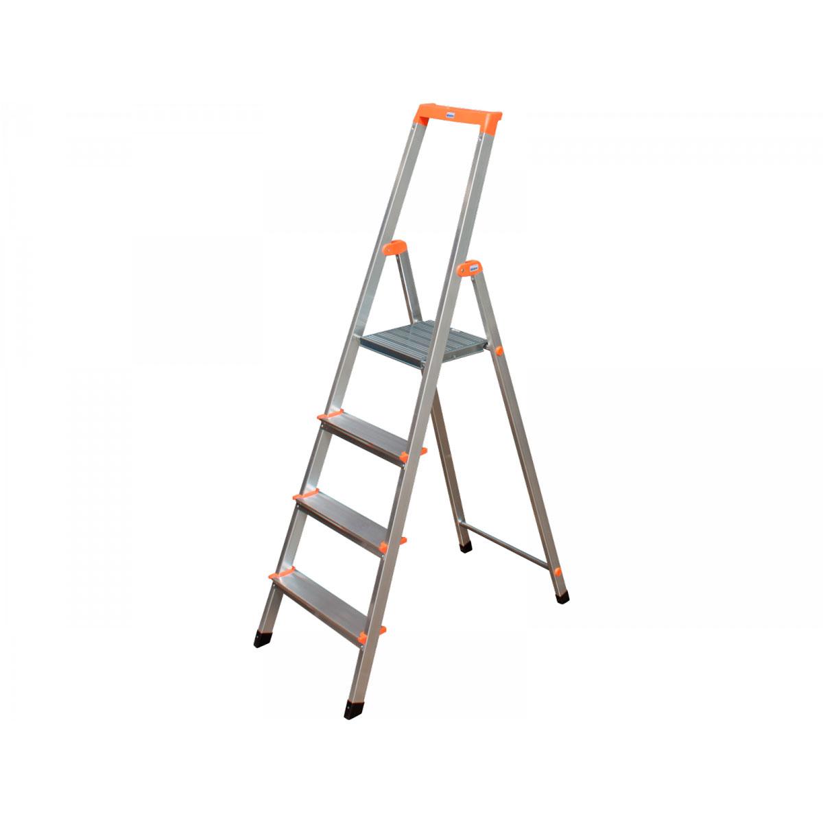 Krause Stufen-Stehleiter Solidy 4 Stufen