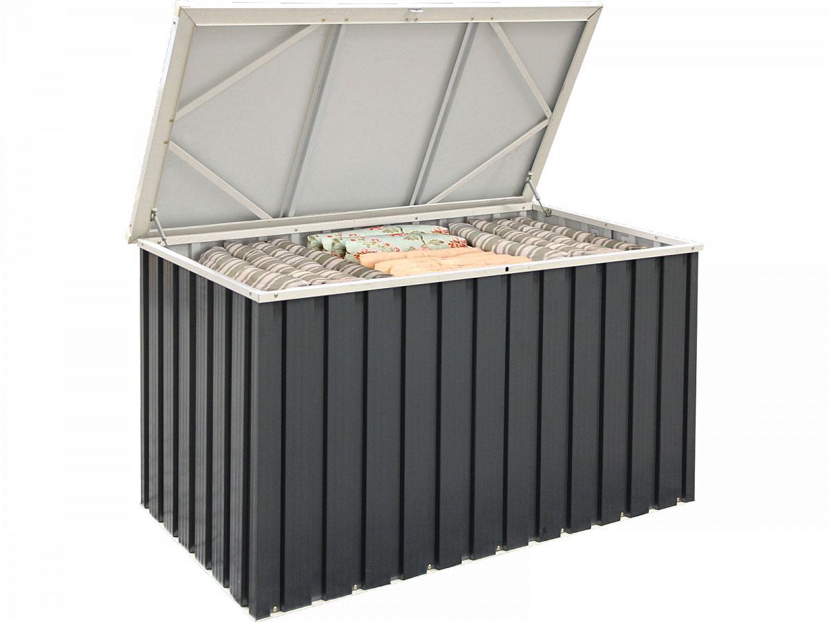 Truhen und Auflagen - Metall Gerätebox 135x70 cm  - Onlineshop Hellweg