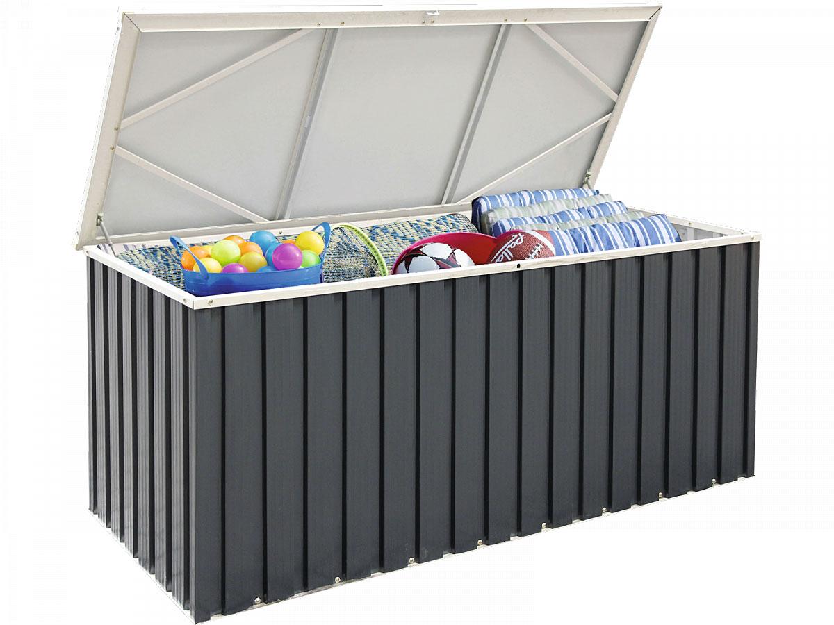 Truhen und Auflagen - Metall Gerätebox 170x70 cm  - Onlineshop Hellweg