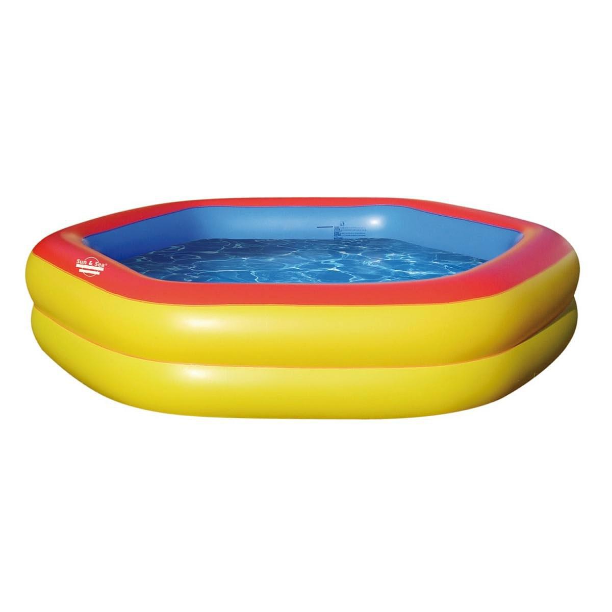 """Pools und Schwimmbecken - Pool """"Hexgonal""""  - Onlineshop Hellweg"""