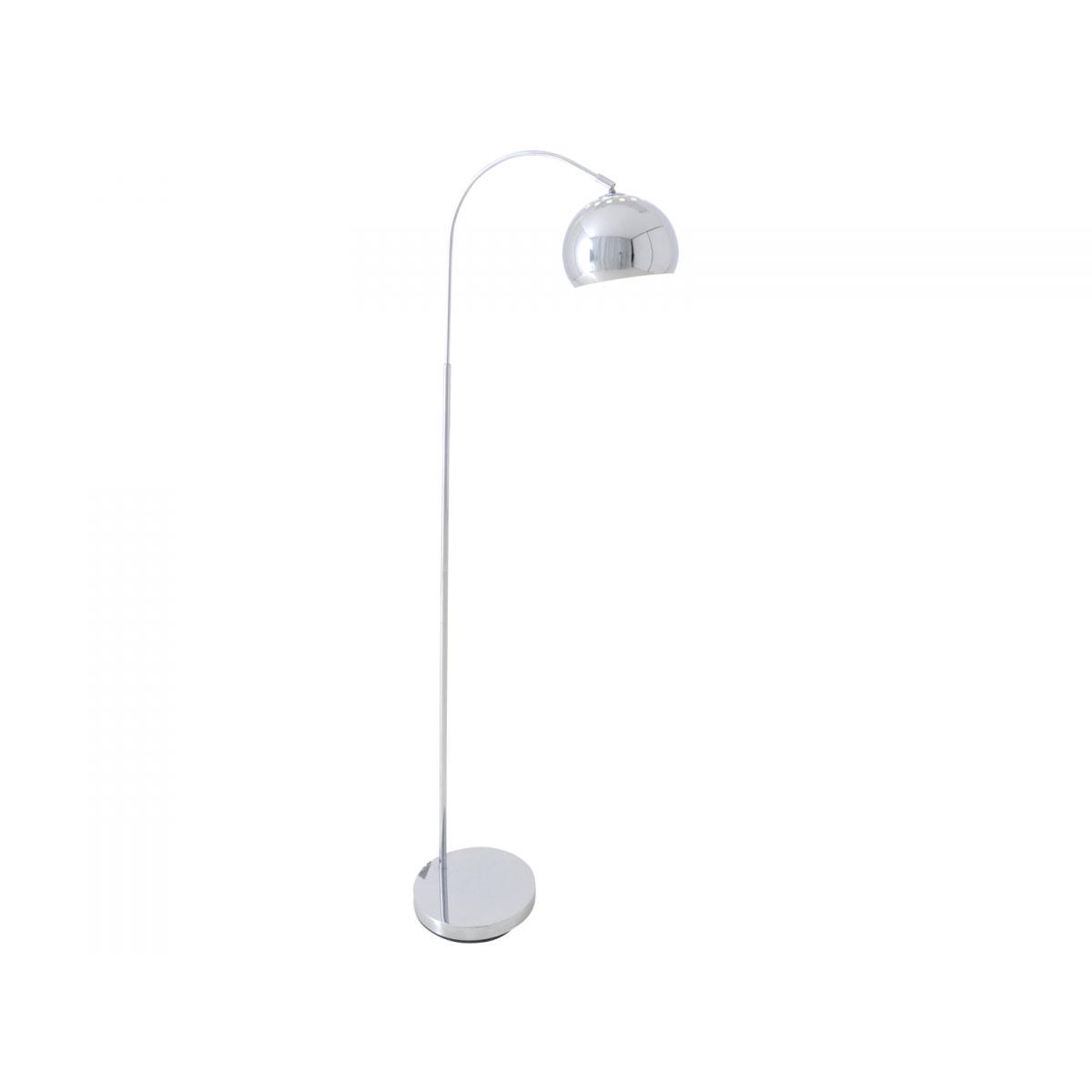 """Stehleuchten - Design Stehlampe """"Style"""", chrom  - Onlineshop Hellweg"""