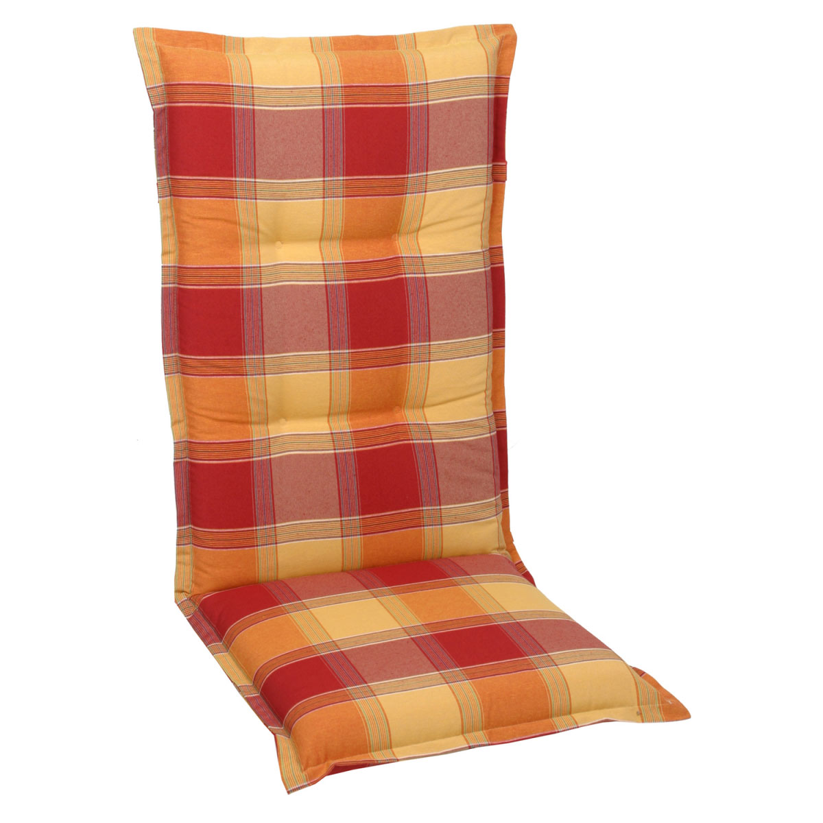 """Truhen und Auflagen - Sessel Auflage, """"Dessin 20387"""", hoch, 120 cm 120 cm  - Onlineshop Hellweg"""