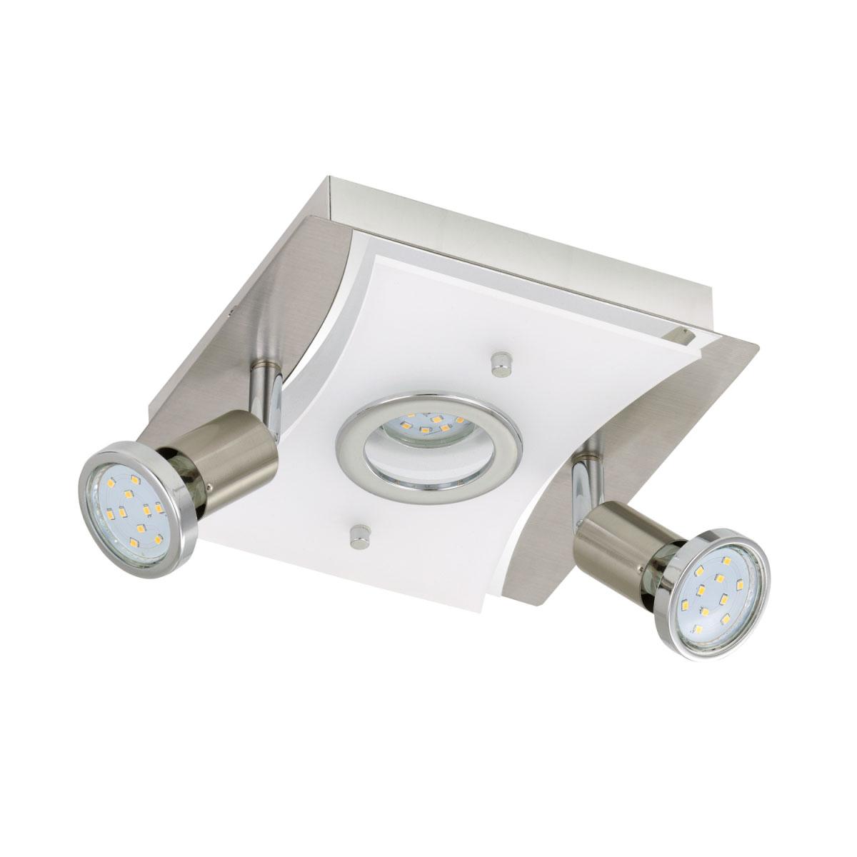 """Deckenleuchten - LED Deckenleuchte """"Riposo"""", matt, 3 flammig, eckig  - Onlineshop Hellweg"""